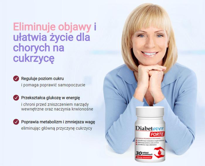 Działanie Diabetover Forte - Efekty